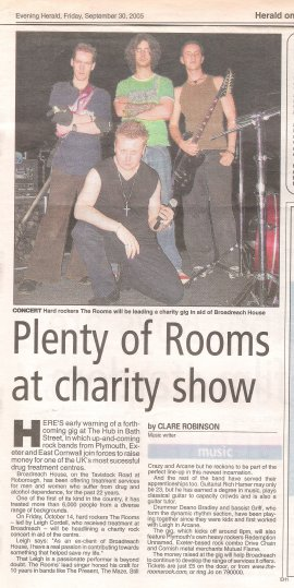 Evening Herald (Friday 30th September 2005)